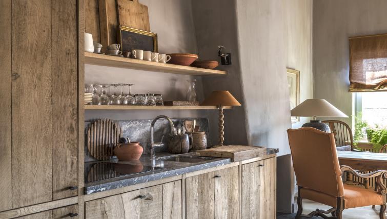 Kitchen at the Katelijne Apartment - Citybase Apartments