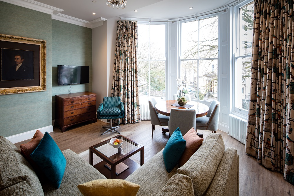 Living room at  Beech House Serviced Apartments - Citybase Apartments