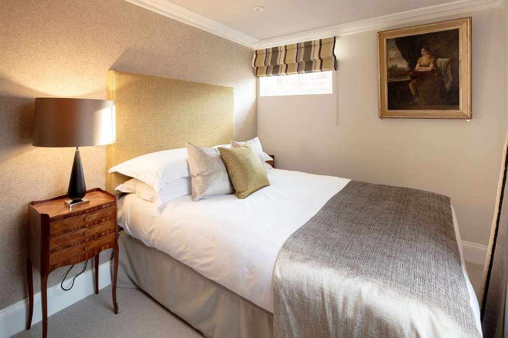 Bedroom at  Beech House Serviced Apartments - Citybase Apartments