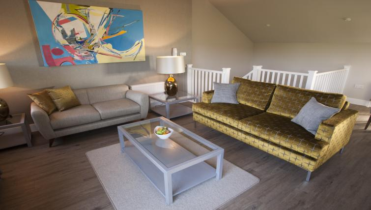 Living area in House at Beech House Serviced Apartments - Citybase Apartments