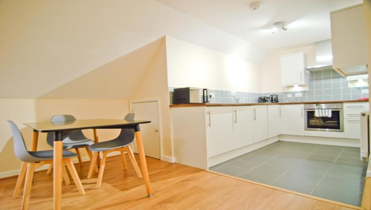 Dining are at Room and Roof Southampton Apartments - Citybase Apartments
