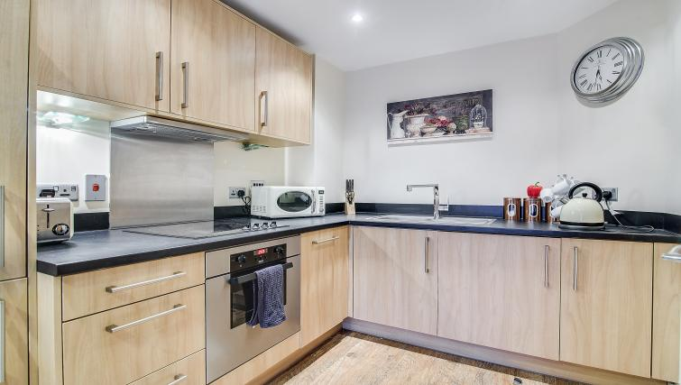 Kitchen at The Corporate Apartment - Citybase Apartments
