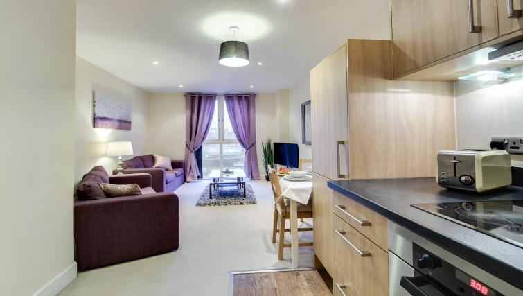 Purple living are at The Corporate Apartment - Citybase Apartments