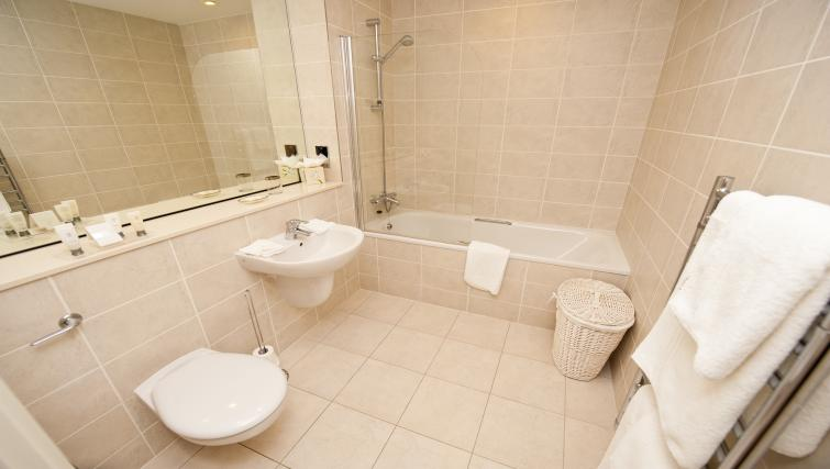 Bathroom at the The Sands Sea Front Apartments - Citybase Apartments