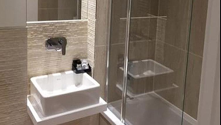 Shower room at London Square Apartment - Citybase Apartments