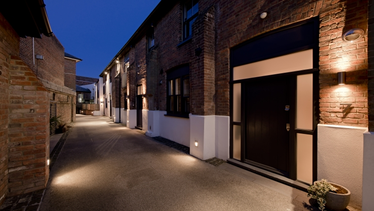 Pristine exterior of St Peters Mews Apartments - Citybase Apartments