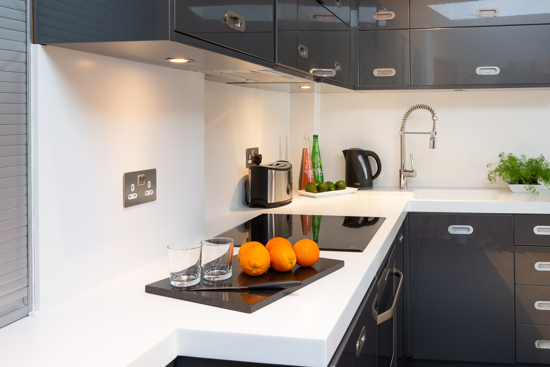 Kitchen at  St Peters Mews Apartments - Citybase Apartments