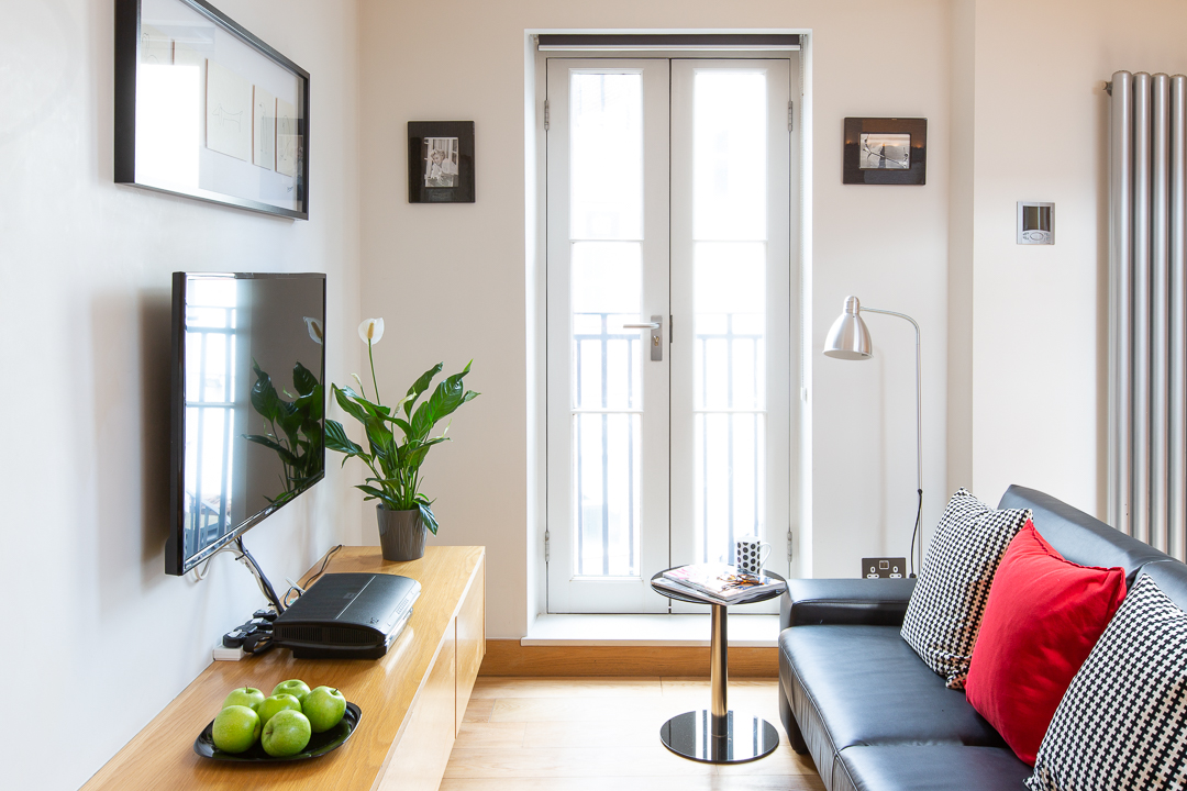 Bright living area at  St Peters Mews Apartments - Citybase Apartments