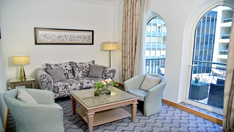 Living room at Gefinor Rotana - Citybase Apartments