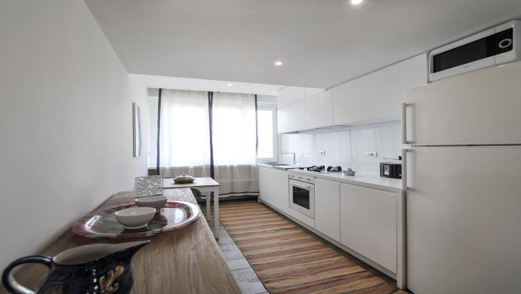 Kitchen at Curtatone Penthouse - Citybase Apartments