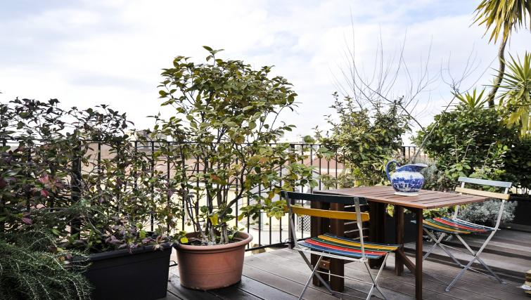 Balcony ast Curtatone Penthouse - Citybase Apartments