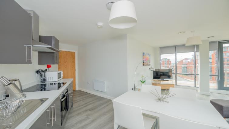 Kitchen at East Point Apartments - Citybase Apartments