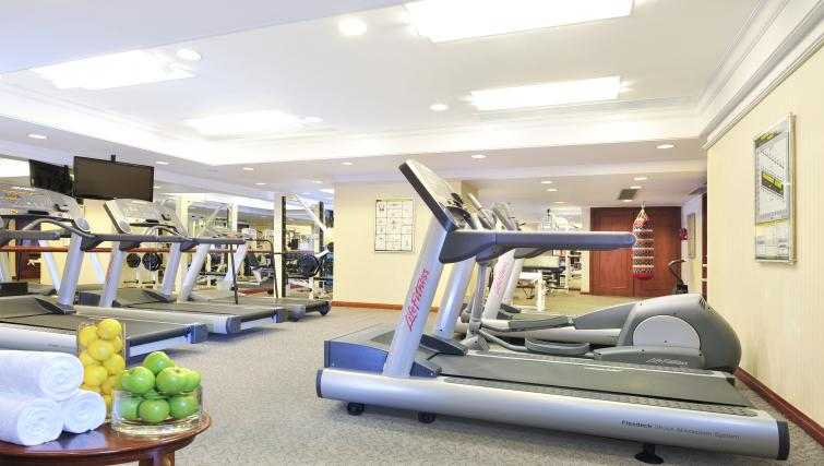 Fitness centre at Harbour Plaza North Point Apartments - Citybase Apartments