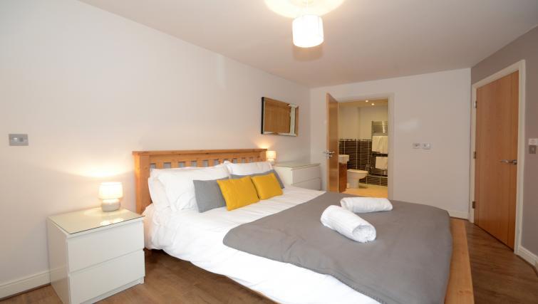 Bedroom at the Dixons Yard Apartment - Citybase Apartments