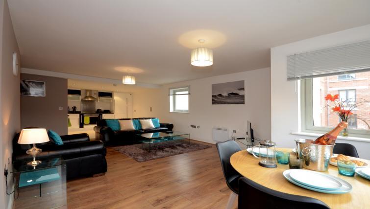 Lounge at the Dixons Yard Apartment - Citybase Apartments