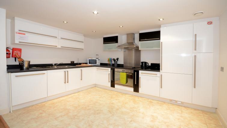 Kitchen at the Dixons Yard Apartment - Citybase Apartments