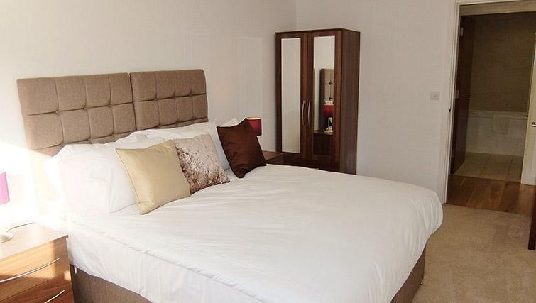 Cosy bedroom at the Ruislip Apartments - Citybase Apartments