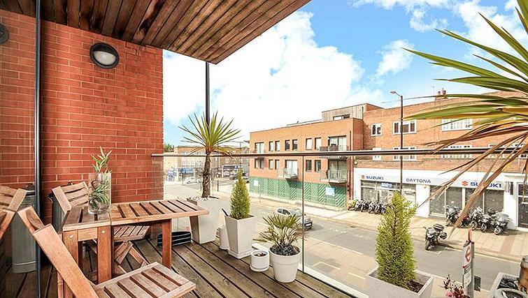 Balcony at the Ruislip Apartments - Citybase Apartments