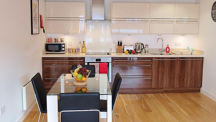 Dining area at the Ruislip Apartments - Citybase Apartments