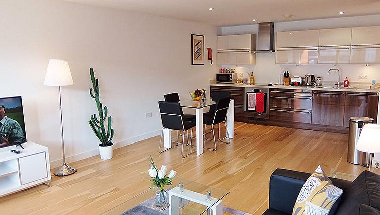 Coffee table at the Ruislip Apartments - Citybase Apartments