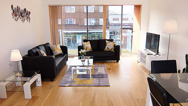 Lounge at the Ruislip Apartments - Citybase Apartments