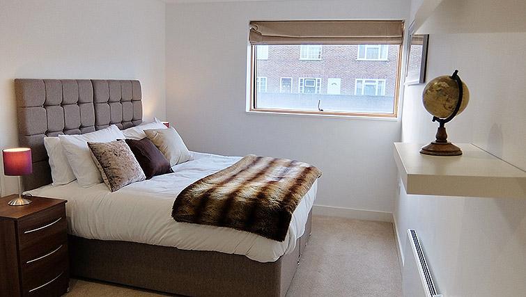 Bedroom at the Ruislip Apartments - Citybase Apartments
