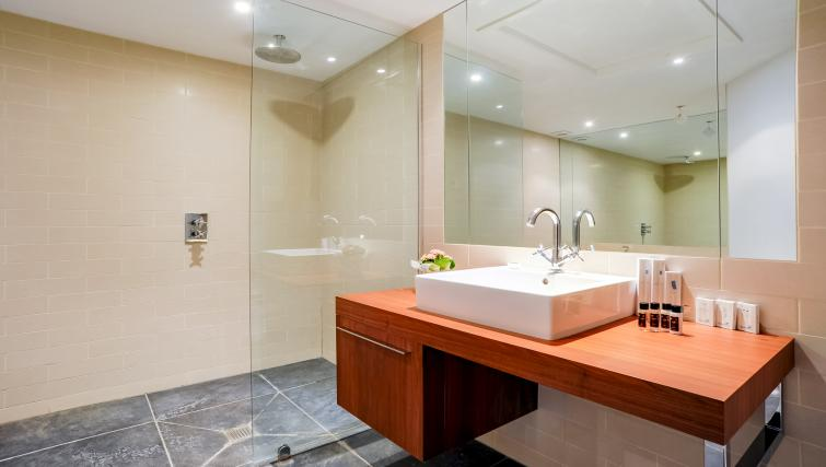 Sink at the Genesis in Kensington Apartment - Citybase Apartments