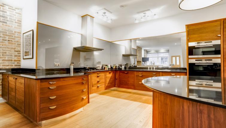Kitchen at the Genesis in Kensington Apartment - Citybase Apartments