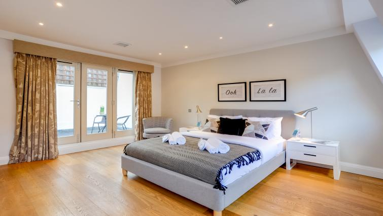 Bedroom at the Genesis in Kensington Apartment - Citybase Apartments