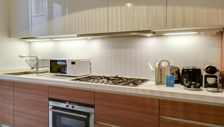Kitchen at the Cerva Milano Apartment - Citybase Apartments