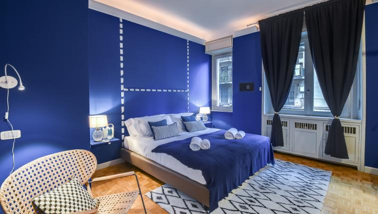 Bedroom at the Cerva Milano Apartment - Citybase Apartments