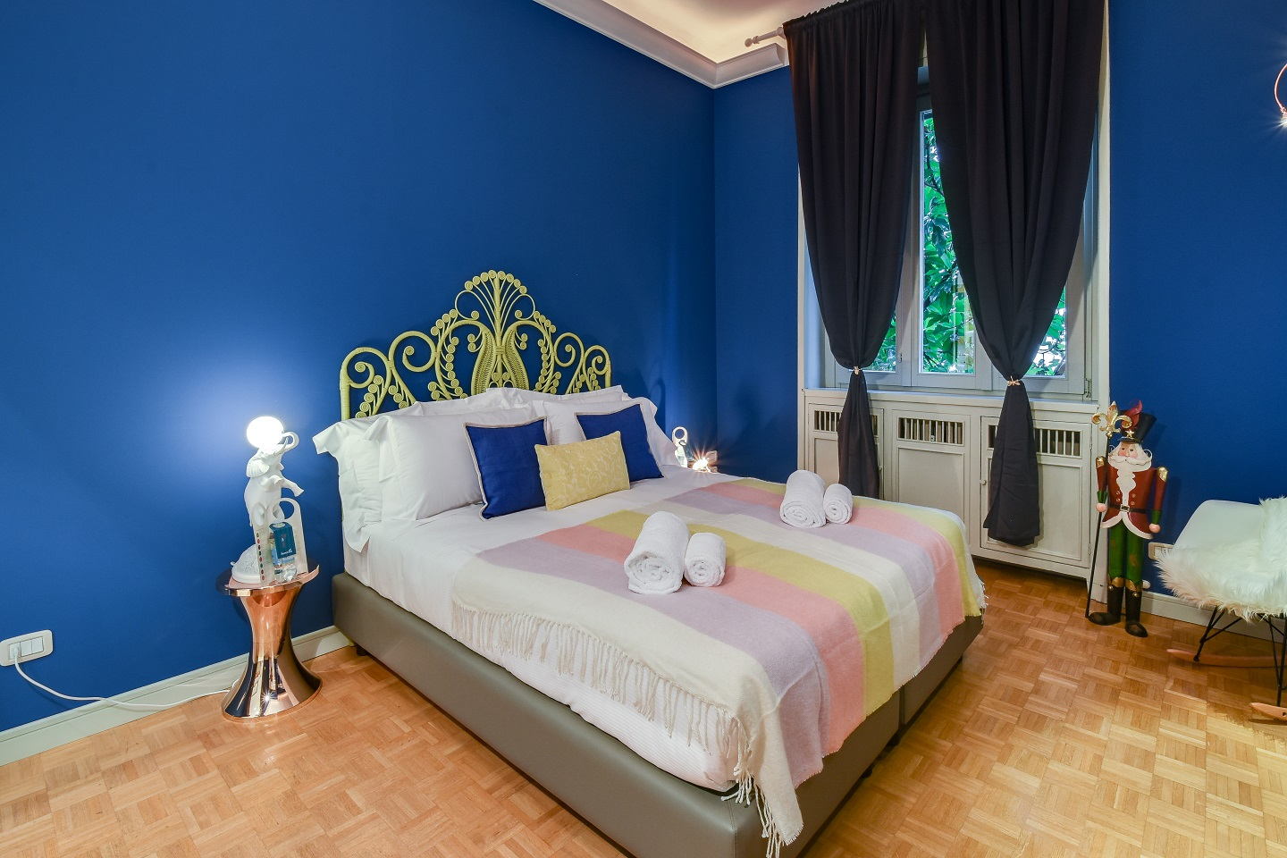 Bed at the Cerva Milano Apartment - Citybase Apartments