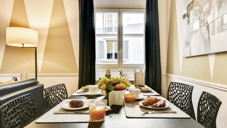 Dining area at the Ciovasso Apartment - Citybase Apartments