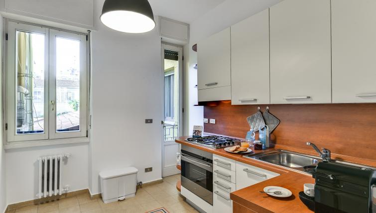 Kitchen at the Ciovasso Apartment - Citybase Apartments