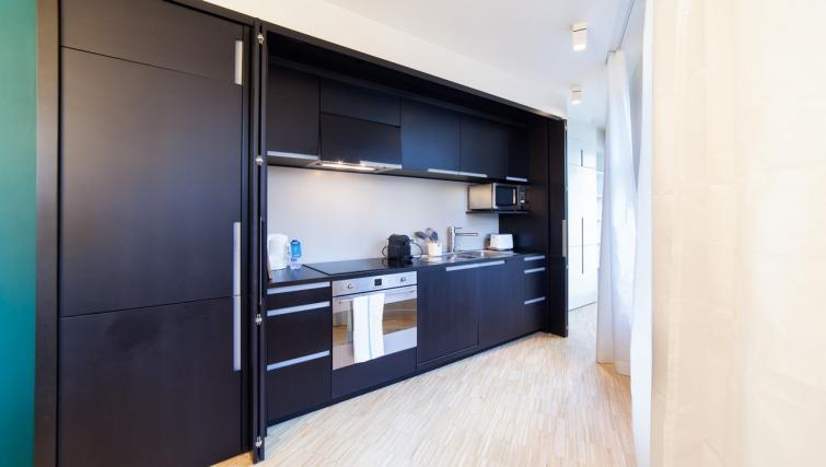 Kitchen at the Regence III Apartment - Citybase Apartments