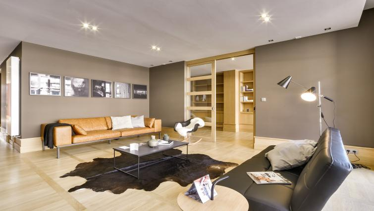 Living area at Couronne Apartments - Citybase Apartments