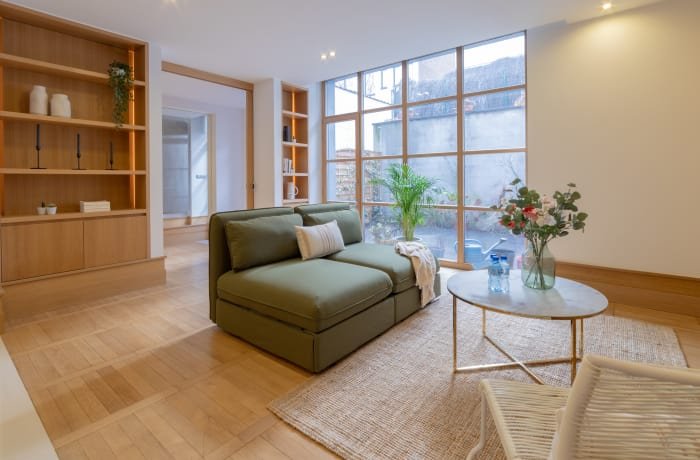 Lounge at Couronne Apartments - Citybase Apartments