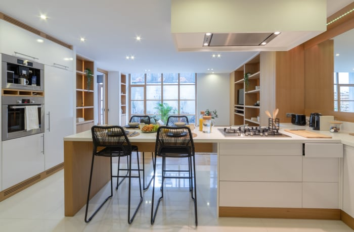 Kitchen facilities at Couronne Apartments - Citybase Apartments