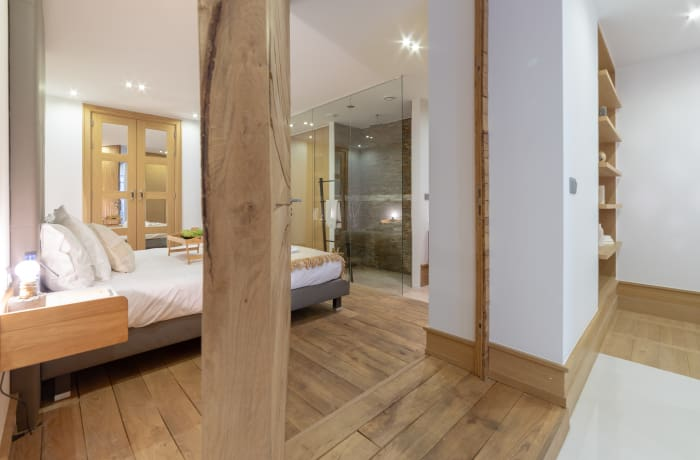 Charming bedroom at Couronne Apartments - Citybase Apartments