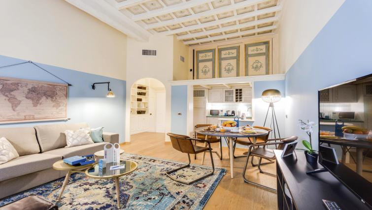Living room at Pantheon Apartment - Citybase Apartments