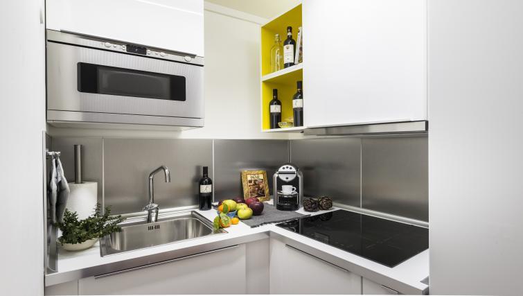 Kitchen at the Specchi Apartment - Citybase Apartments