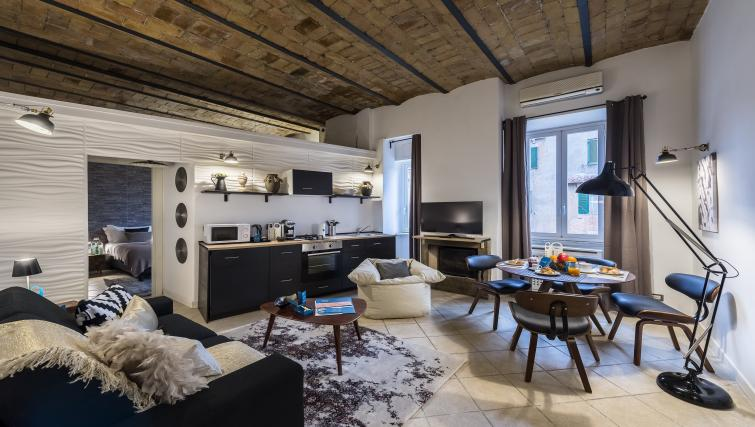 Living room at Caracciolo Apartment - Citybase Apartments