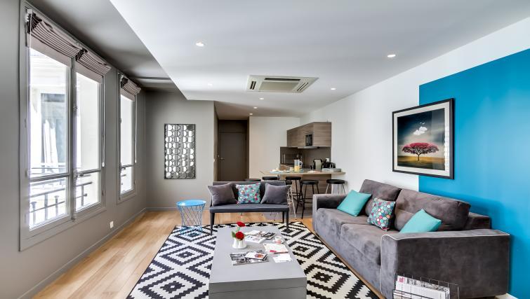 Sofa at Boetie Apartments - Citybase Apartments