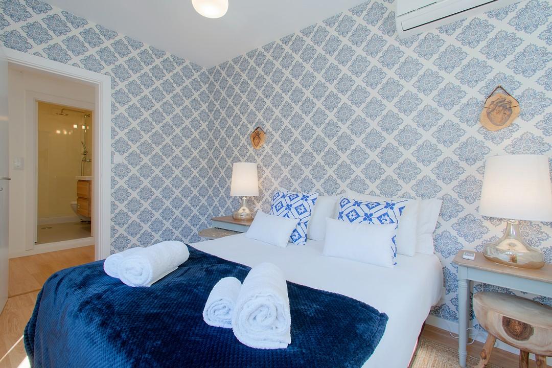 Bedroom at Gloria Apartments - Citybase Apartments