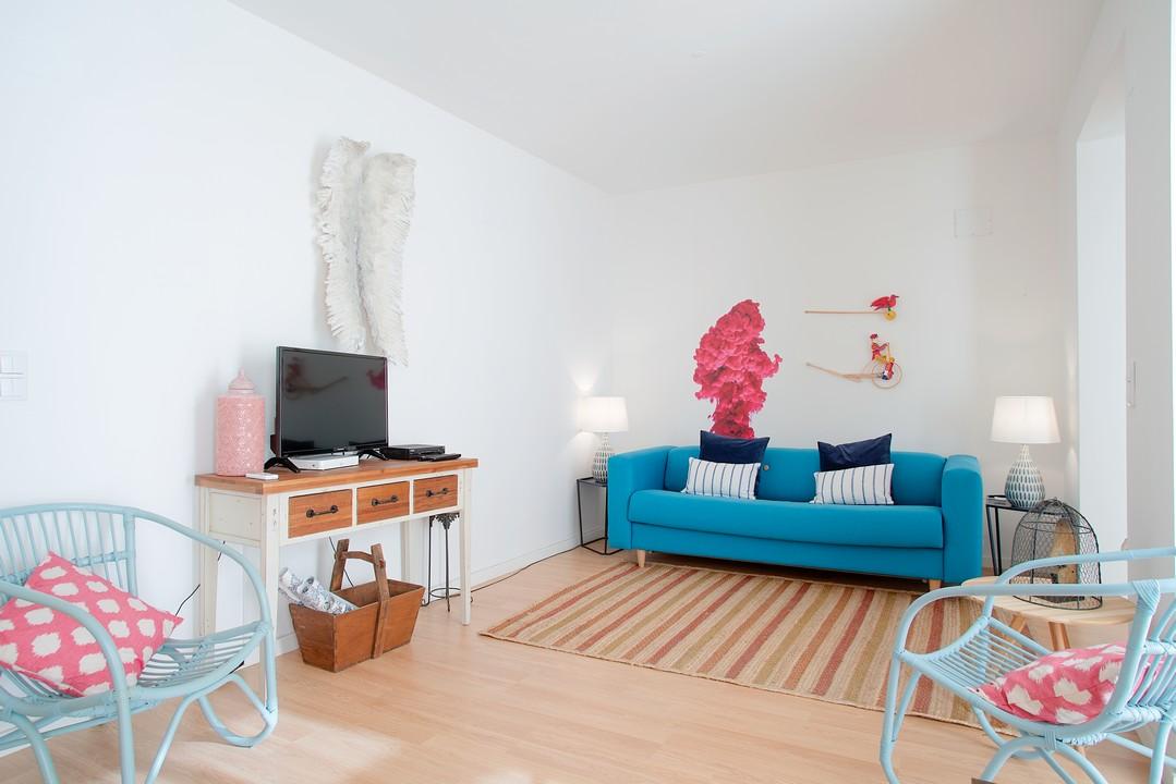 Lounge at Gloria Apartments - Citybase Apartments