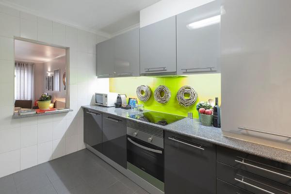 Kitchen at Liberdade Executive Apartments - Citybase Apartments