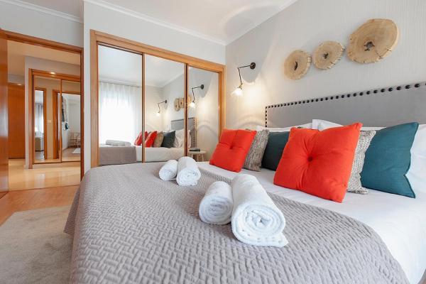 Bedroom at Liberdade Executive Apartments - Citybase Apartments