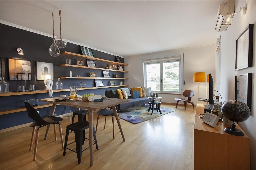 Spacious lounge at Liberdade Executive Apartments - Citybase Apartments