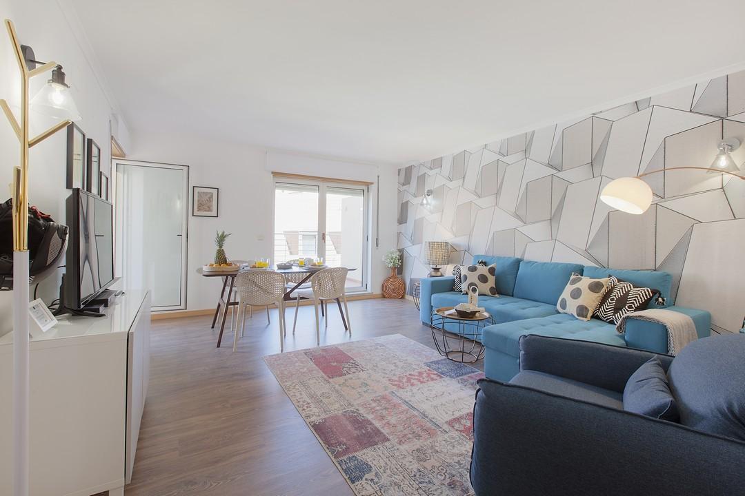 Lounge at Liberdade Executive Apartments - Citybase Apartments