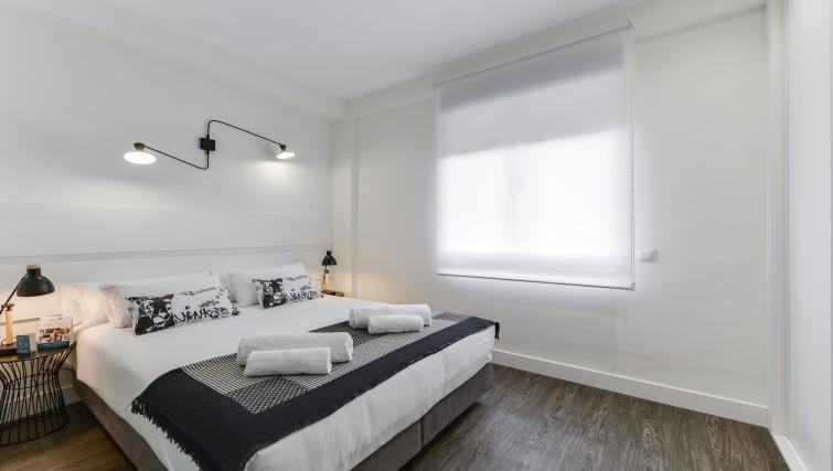 Bedroom at the San Bernardo Apartment - Citybase Apartments